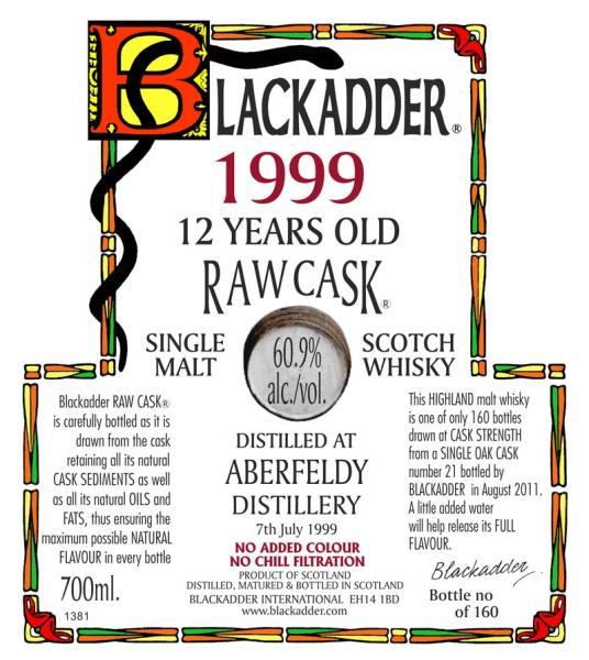Aberfeldy 1999 BA