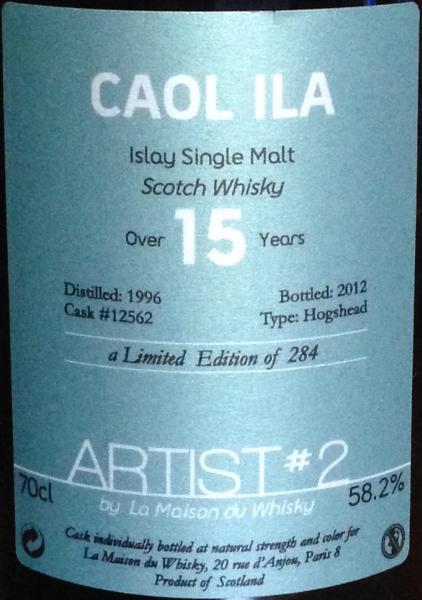 Caol Ila 1996 LMDW
