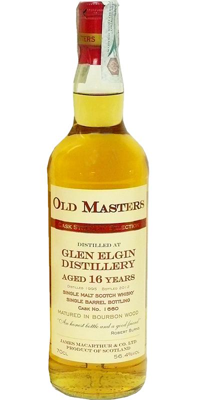 Glen Elgin 1995 JM