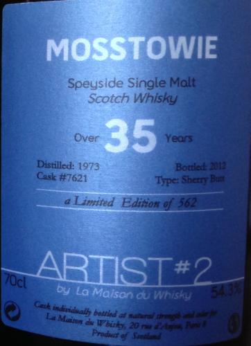 Mosstowie 1973 LMDW