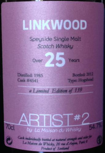 Linkwood 1985 LMDW