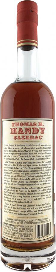 Thomas H. Handy Sazerac 2006