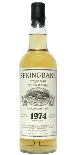 Springbank 1974
