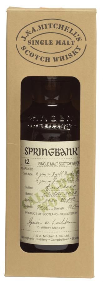 Springbank 2000 Calvados
