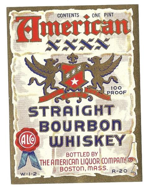 American XXXX Straight Bourbon Whiskey