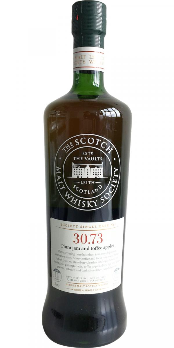 Glenrothes 2001 SMWS 30.73