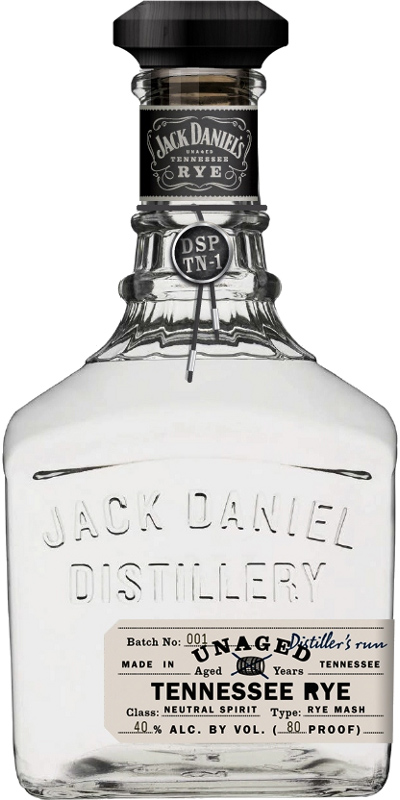 Jack Daniel's Unaged - Tennessee Rye