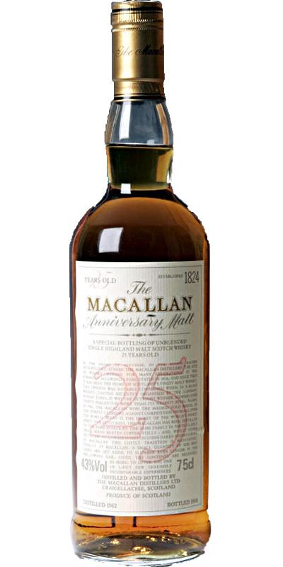 Macallan 1962
