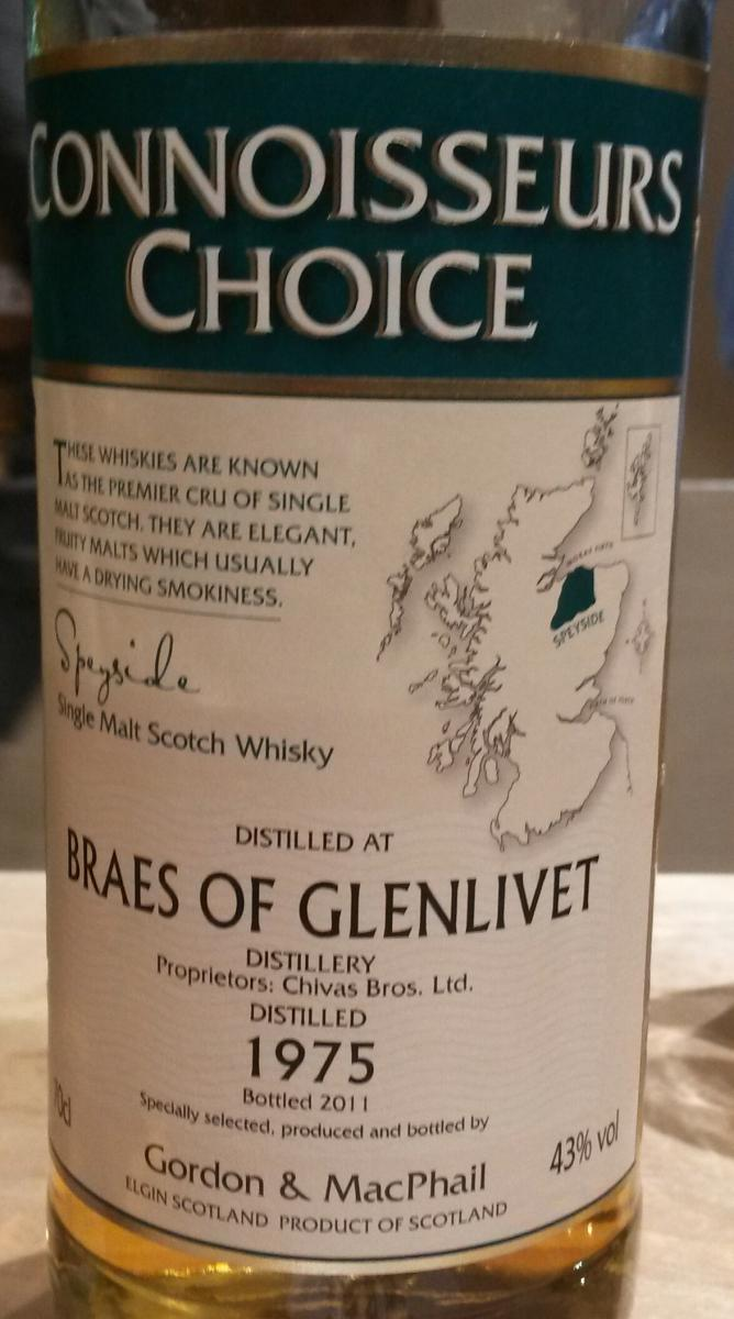 Braes of Glenlivet 1975 GM