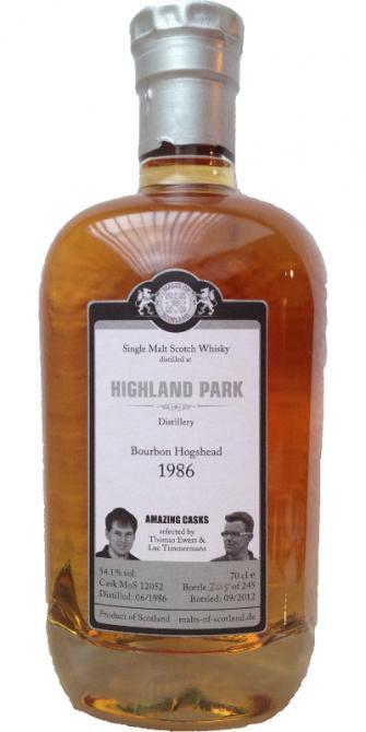 Highland Park 1986 MoS