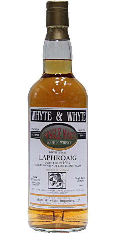 Laphroaig 1967 W&W