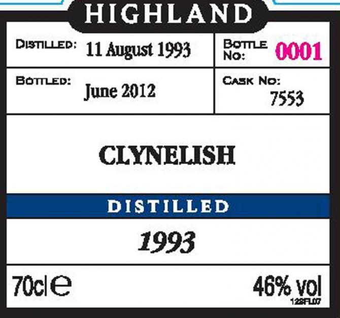 Clynelish 1993 Mg