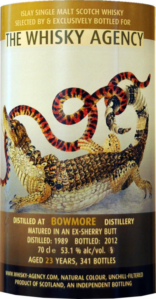 Bowmore 1989 TWA