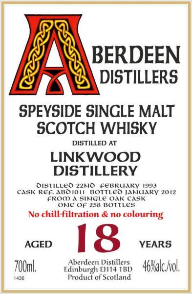 Linkwood 1993 BA