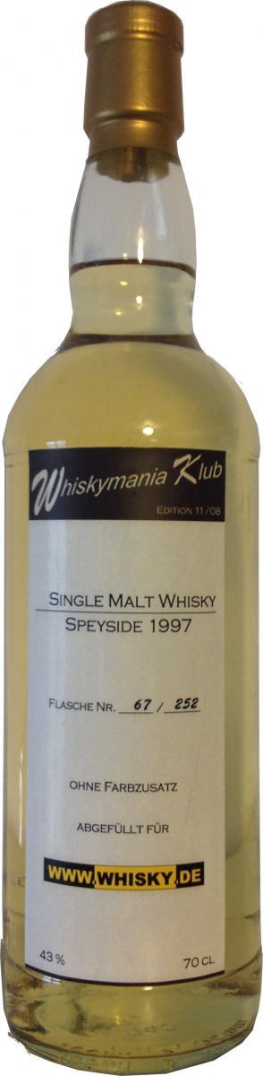 Whiskymania Klub 1997 - Speyside Wm.de