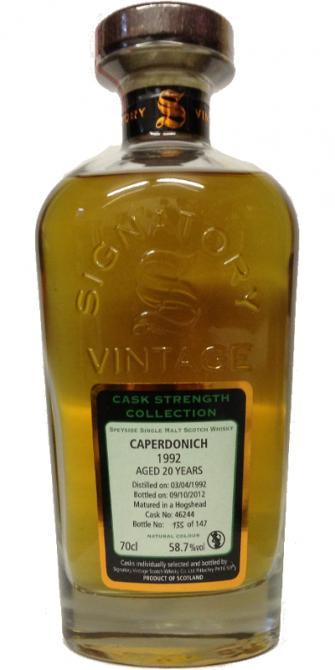 Caperdonich 1992 SV