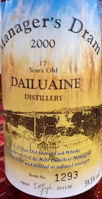 Dailuaine 17-year-old