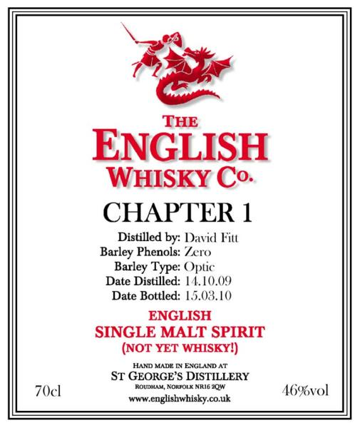 The English Whisky 2009