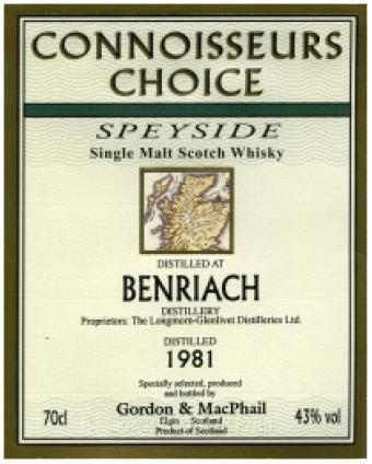 BenRiach 1981 GM