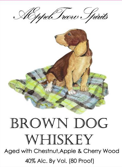 AEppelTreow Brown Dog Whiskey
