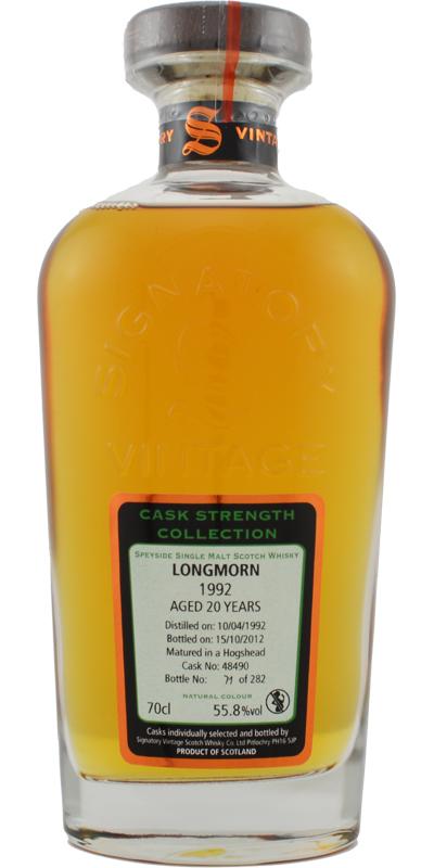 Longmorn 1992 SV