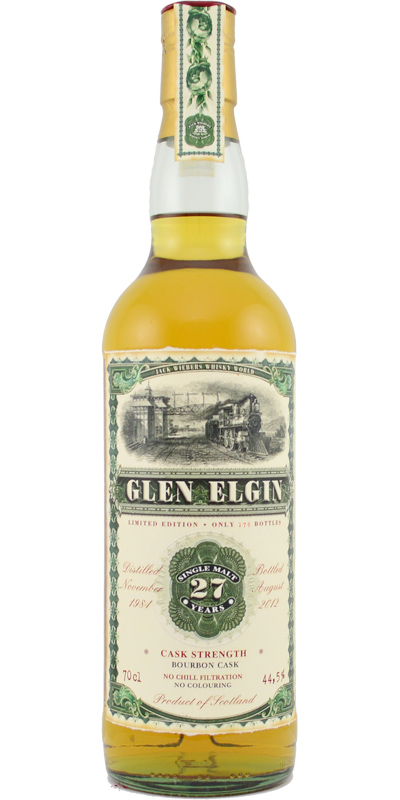 Glen Elgin 1984 JW