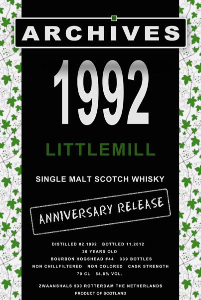 Littlemill 1992 Arc
