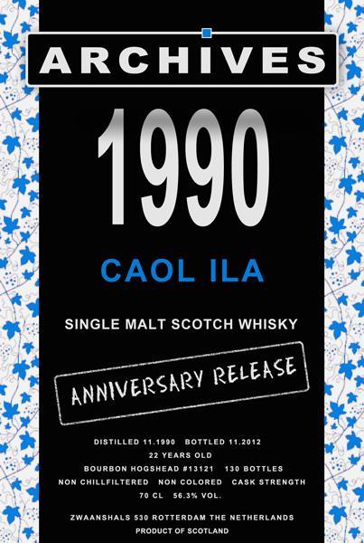 Caol Ila 1990 Arc