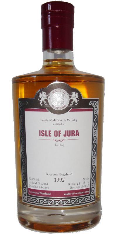Isle of Jura 1992 MoS