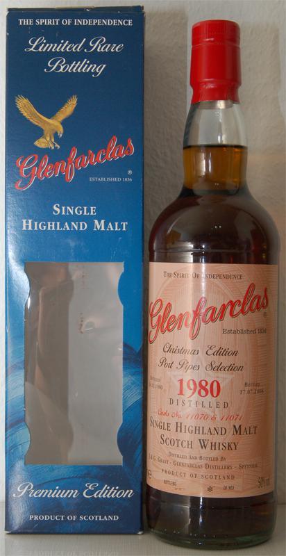 Glenfarclas 1980 Christmas Edition