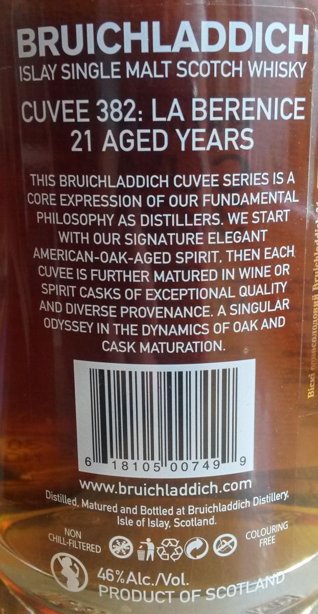 Bruichladdich Cuvée 382