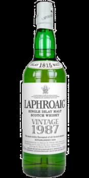 Laphroaig 1987