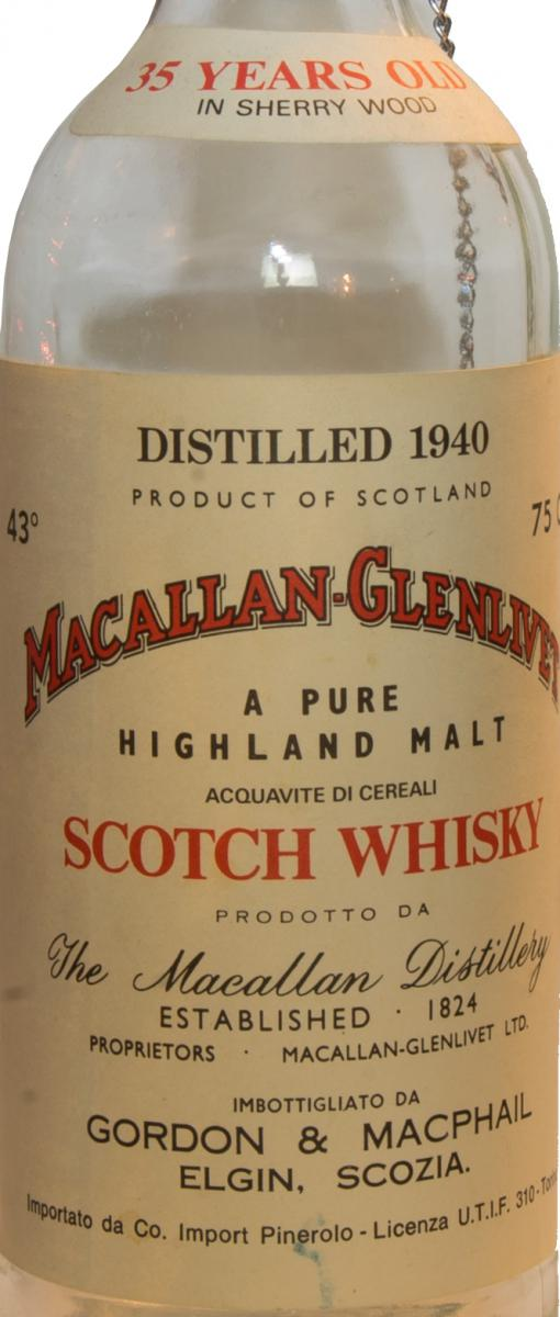 Macallan 1940 GM