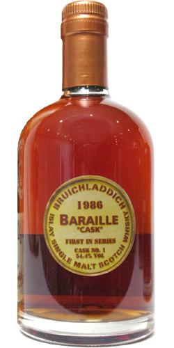 Bruichladdich 1986 Baraille