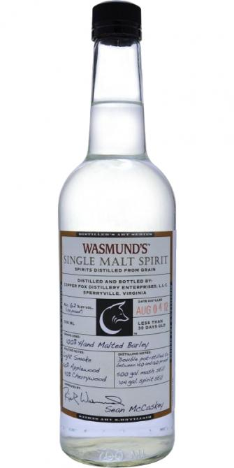 Wasmund's 2012 Single Malt Spirit