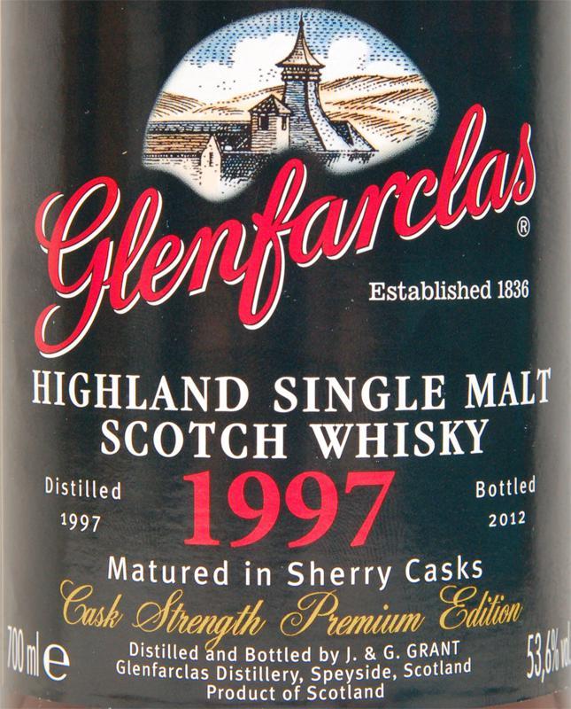 Glenfarclas 1997