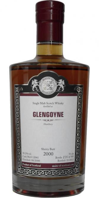 Glengoyne 2000 MoS