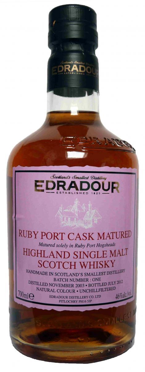 Edradour 2003 Port Cask