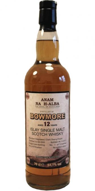 Bowmore 2000 ANHA