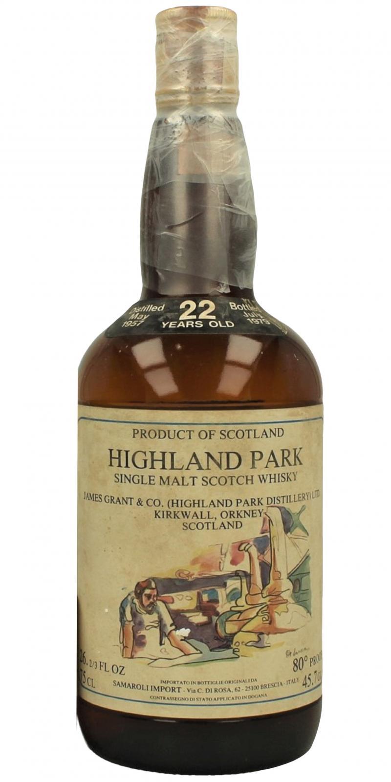 Highland Park 1957 CA