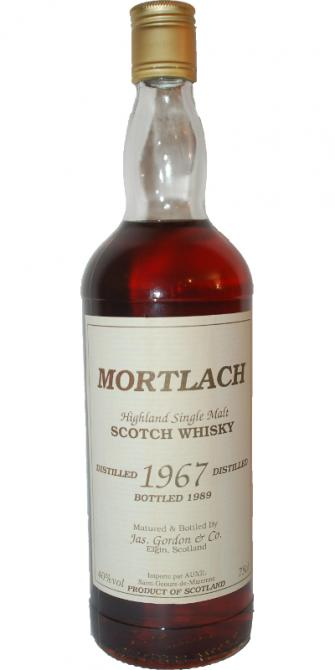 Mortlach 1967 GM