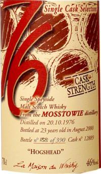 Mosstowie 1976 LMDW