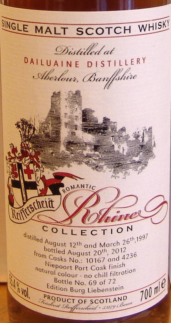 Dailuaine 1997 FR