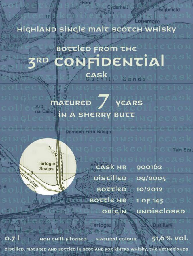 Confidential Cask 2005 KiW