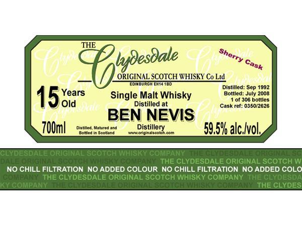 Ben Nevis 1992 TCO