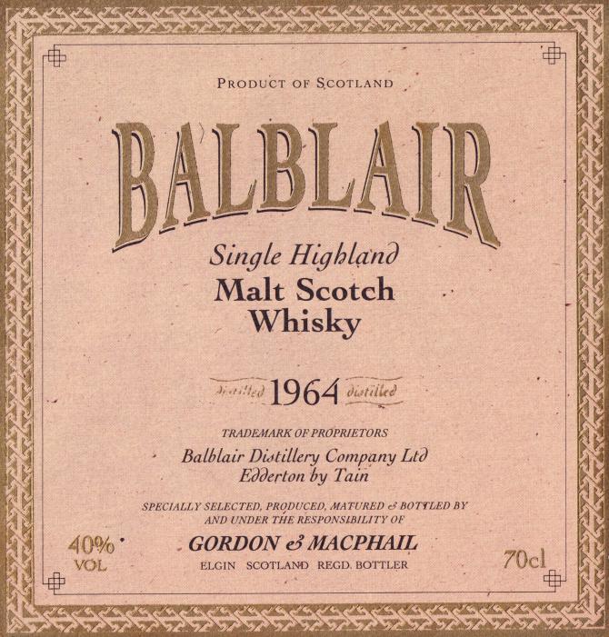 Balblair 1964 GM