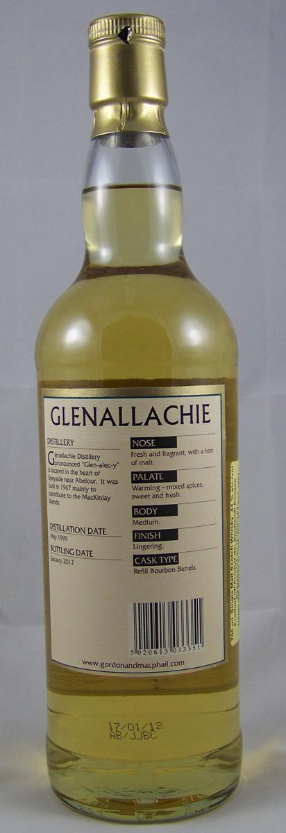 Glenallachie 1999 GM