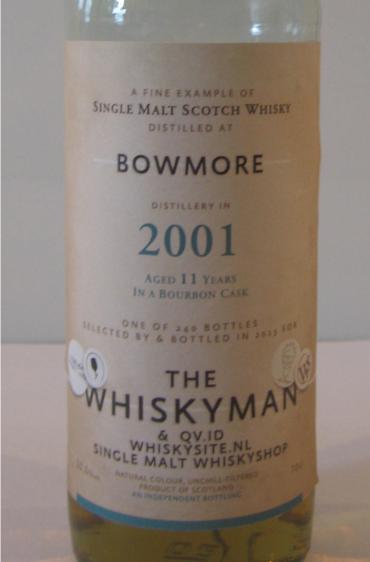 Bowmore 2001 TWm