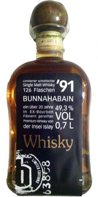 Bunnahabhain 1991 GBr