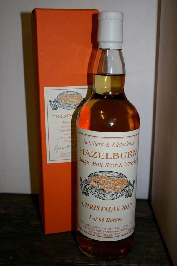 Hazelburn Rundlets & Kilderkins
